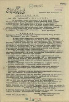 "Komunikat Międzyzakładowej Komisji NSZZ ""Solidarność"". 1980 nr 32"