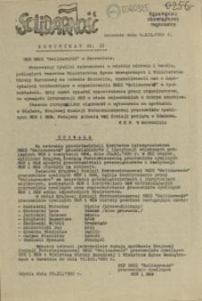 "Komunikat Międzyzakładowej Komisji NSZZ ""Solidarność"". 1980 nr 33"