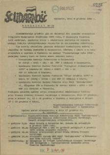 "Komunikat Międzyzakładowej Komisji NSZZ ""Solidarność"". 1980 nr 34"
