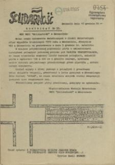 "Komunikat Międzyzakładowej Komisji NSZZ ""Solidarność"". 1980 nr 35"