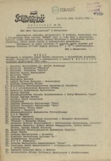 "Komunikat Międzyzakładowej Komisji NSZZ ""Solidarność"". 1980 nr 38"