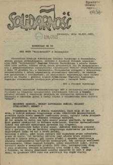 "Komunikat Międzyzakładowej Komisji NSZZ ""Solidarność"". 1980 nr 40"