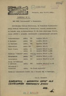 "Komunikat Międzyzakładowej Komisji NSZZ ""Solidarność"". 1980 nr 41"