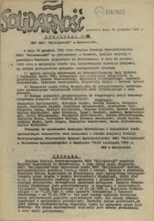 "Komunikat Międzyzakładowej Komisji NSZZ ""Solidarność"". 1980 nr 42"