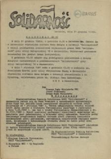 "Komunikat Międzyzakładowej Komisji NSZZ ""Solidarność"". 1980 nr 44"