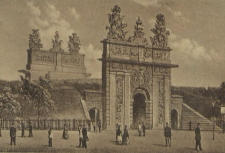 Stettin, das Königstor vor der Entfestigung der Stadt