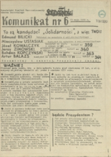 Komunikat. 1989 nr 6