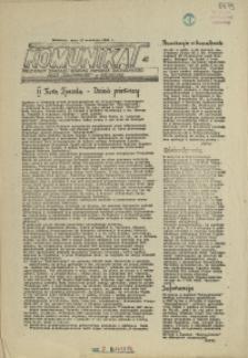 """Komunikat Prezydium Zarządu Regionu Pomorza Zachodniego NSZZ """"Solidarność"""". 1981 nr 41"""
