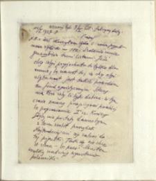 Listy Stanisława Ignacego Witkiewicza do żony Jadwigi z Unrugów Witkiewiczowej. List z 10.01.1928