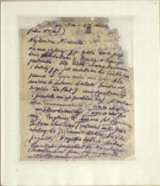 Listy Stanisława Ignacego Witkiewicza do żony Jadwigi z Unrugów Witkiewiczowej. List z 16.09.1928