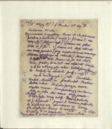Listy Stanisława Ignacego Witkiewicza do żony Jadwigi z Unrugów Witkiewiczowej. List z 26.09.1928