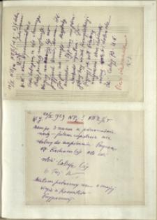 Listy Stanisława Ignacego Witkiewicza do żony Jadwigi z Unrugów Witkiewiczowej. List z18.02.1929. List z 20.02.1929.