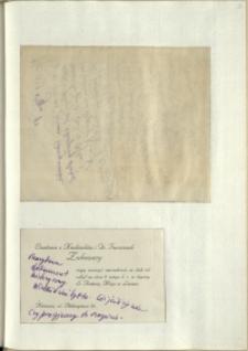 Listy Stanisława Ignacego Witkiewicza do żony Jadwigi z Unrugów Witkiewiczowej. List z 01.03.1929. List z 28.02.1929.