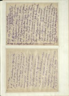 Listy Stanisława Ignacego Witkiewicza do żony Jadwigi z Unrugów Witkiewiczowej. List z 08.03.1929. List z 11.03.1929.