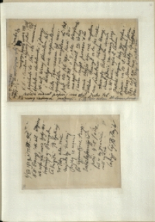 Listy Stanisława Ignacego Witkiewicza do żony Jadwigi z Unrugów Witkiewiczowej. List z 03/04.07.1929. List z 06.07.1929