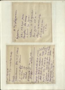 Listy Stanisława Ignacego Witkiewicza do żony Jadwigi z Unrugów Witkiewiczowej. List z 10.10.1929. List z 11.10.1929.