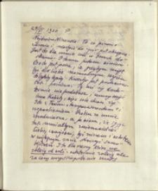 Listy Stanisława Ignacego Witkiewicza do żony Jadwigi z Unrugów Witkiewiczowej. List z 27.06.1930.