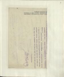 Listy Stanisława Ignacego Witkiewicza do żony Jadwigi z Unrugów Witkiewiczowej. List z 03.07.1930.