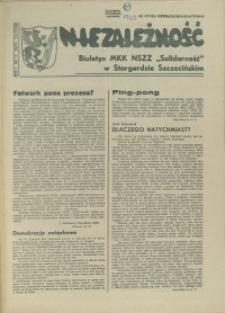 """Niezależność : biuletyn informacyjny NSZZ """"Solidarność"""" w Stargardzie Szczecińskim. 1981 nr 13"""
