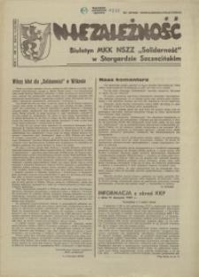 """Niezależność : biuletyn informacyjny NSZZ """"Solidarność"""" w Stargardzie Szczecińskim. 1981 nr 16"""