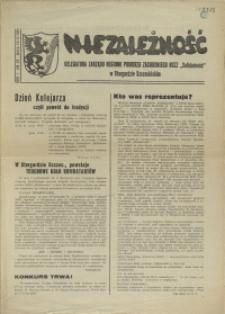 """Niezależność : biuletyn informacyjny NSZZ """"Solidarność"""" w Stargardzie Szczecińskim. 1981 nr 23"""