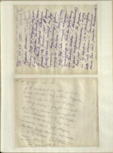 Listy Stanisława Ignacego Witkiewicza do żony Jadwigi z Unrugów Witkiewiczowej. List z 13.07.1931. List z 15.07.1931.