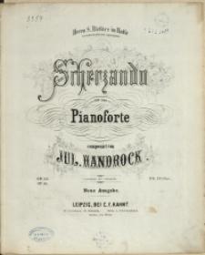 Scherzando : für das Pianoforte : Op. 51
