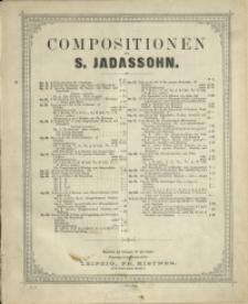 3 Morceaux de Salon : (Canzonette - Scherzino- Valse) pour Piano