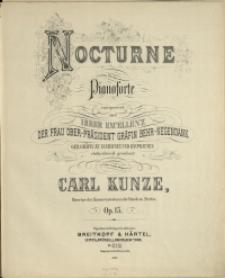 Nocturne : für das Pianoforte : Op. 15