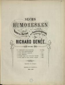 Sechs Humoresken : für Bass oder Bariton mit Pianofortebegleitung : Op. 153 No 4, Nur Medizin!