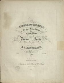 Lieder und Gesänge : für eine Mezzo-Sopran oder Bariton-Stimme mit Begleitung des Piano-Forte H. 1
