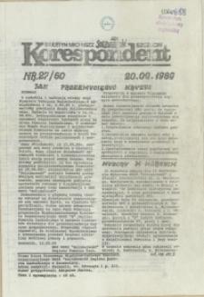 """Korespondent : biuletyn MKO NSZZ """"Solidarność"""" Szczecin. 1989 nr 27"""