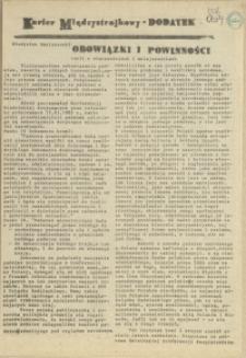 """Kurier Międzystrajkowy : pismo NSZZ """"Solidarność"""". 1989 dod."""