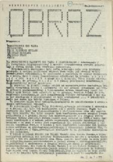 Obraz : miesięcznik społeczny. 1983 nr 3