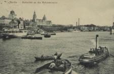 Stettin, Hafenbild an der Hakenterrasse