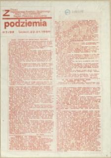 """Z Podziemia : pismo Regionalnego Komitetu Związkowego NSZZ """"Solidarność"""" Region Pomorze Zachodnie. 1984 nr 2"""