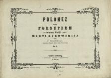 Polonez : na fortepian : Op.3