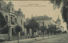 Treptow an der Rega, Königliche Unteroffizier-Schule und Kommandeur-Gebäude