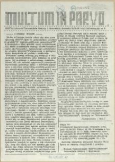 Multum in Parvo : biuletyn informacyjny. 1989 nr 9
