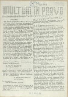 Multum in Parvo : biuletyn informacyjny. 1989 nr 10