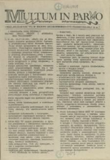 Multum in Parvo : biuletyn informacyjny. 1990 nr 25