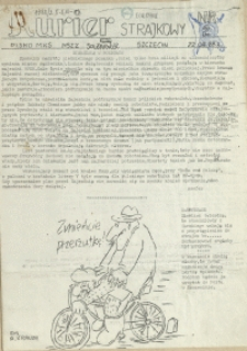 """Kurier Strajkowy : pismo MKS NSZZ """"Solidarność"""". 1988 nr 2"""