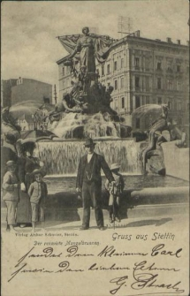 Gruss aus Stettin, Der renovirte Manzelbrunnen