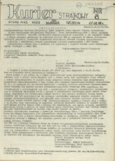 """Kurier Strajkowy : pismo MKS NSZZ """"Solidarność"""". 1988 nr 8"""