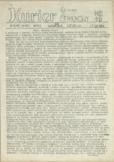 """Kurier Strajkowy : pismo MKS NSZZ """"Solidarność"""". 1988 nr 10"""
