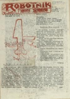 Robotnik Pomorza Zachodniego. 1986 nr 105