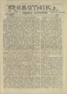 Robotnik Pomorza Zachodniego. 1987 nr 5