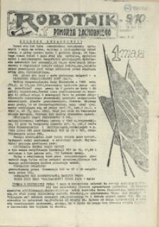 Robotnik Pomorza Zachodniego. 1987 nr 9/10