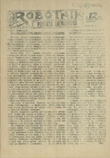 Robotnik Pomorza Zachodniego. 1987 nr 12