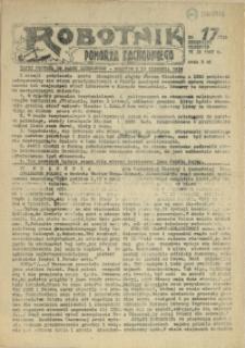 Robotnik Pomorza Zachodniego. 1987 nr 17